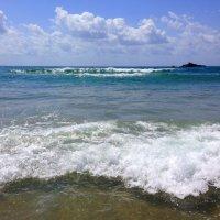 Море, море - мир бездонный, Пенный шелест волн прибрежных.. :: Люда Валяшки