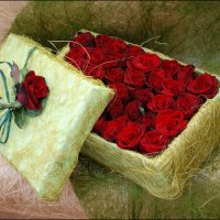Дарите мужчины, цветы днем и ночью. :: Anna Gornostayeva