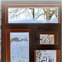 Окно в зиму. :: Владимир Михайлович Дадочкин