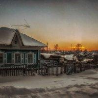 А за деревней догорал закат... :: Светлана Лиханова