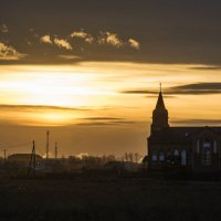 На закате :: юрий Амосов