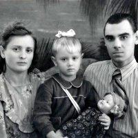 1953г. Я с родителями :: Tata Wolf