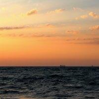 Корабли уходят на закате :: Марина Дегтярева