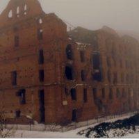 Здание после бомбежки :: Надюшка Трубникова
