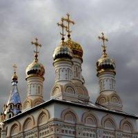 Купола в России кроют чистым золотом - Чтобы чаще Господь замечал. :: Сергей Колотов
