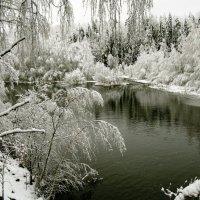 Первый снег :: Юстас Еркко-Balnanosis