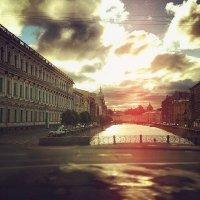 Рассвет в Питере :: Kseniya Umnova