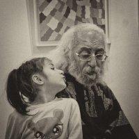 Скажи-ка, деда... :: Людмила Синицына