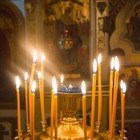 свечи :: Ольга Рябчикова