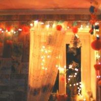 Моя комната.вечер перед Новый Годом.2013. :: Соня Чубовскова