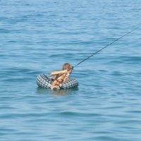 необычная рыбалка) :: Ludmila Kolesnikova