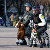 Городские ковбои :: Александр Неверов