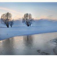 зимний закат :: Диана Задворкина