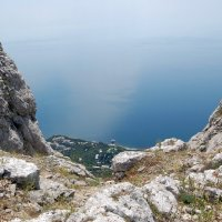 Горы, море, небо. Все это Крым :: Евгений Юрченко