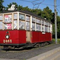 Блокадный питерский трамвай :: Анна Романова