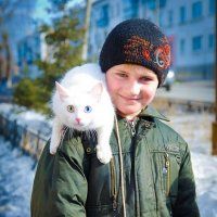 Сторожевой кот :: Максим Кагало