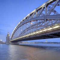 Большеохтинский мост :: Александр Максимов