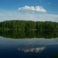 Озеро :: Надежда Духанина