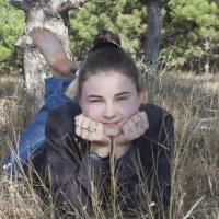 Студентка на отдыхе :: Елена Бармакина