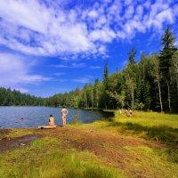 Теплое озеро на Снежной :: Виктор Никитин