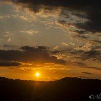 закат над Барселоной :: AleksandraN Naumova