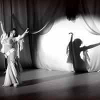 Восточный танец (чб) :: Елена Перевозникова