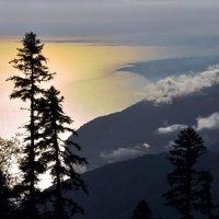 золото неба в золоте моря :: Дмитрий Грибанов
