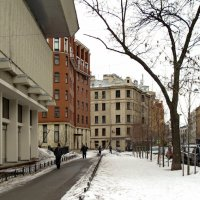 Малая Посадская улица :: Олег Попков