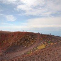Вулкан и небо :: Iren Kolt