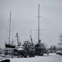Яхты на снегу :: Вахтанг Хантадзе
