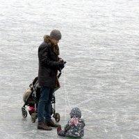 По первому льду :: Татьяна Симонова