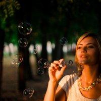 Мыльные пузыри :: Софья Коцарева