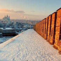 Смоленск, вечерняя прогулка по крепостной стене. :: Игорь