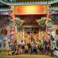 Китайский храм :: Евгений Логинов