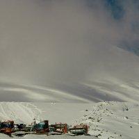 Вершины Эльбруса не видно :: Андрей Кулаков