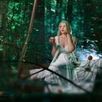 Девушка с яблоками :: Дмитрий Иванов
