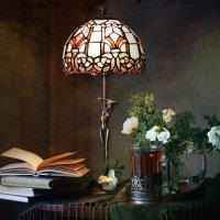 При свете любимой лампы :: lady-viola2014 -