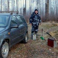 прибытие на рыбалку :: Вячеслав Завражнов