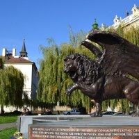 Крылатый лев :: Ольга
