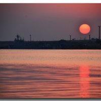 Восход на озере Донузлав :: Ольга Голубева