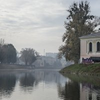 Туман на реке :: Владимир Кроливец