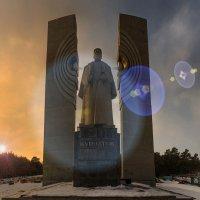 Курчатов. Создатель национального ядерного оружия. Памятник :: Антон Летов