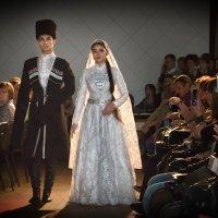 Костюмы жениха и невесты Северной Осетии конца XIX века :: Дарья Казбанова