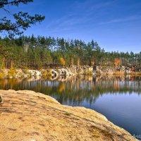 """озеро""""Высокий камень"""" :: Андрей Зелёный"""
