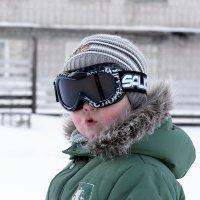 Маленький горнолыжник :: Валентина Илларионова (Блохина)