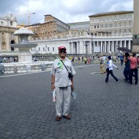 Я на площади Св. Петра :: Валерьян