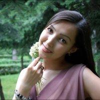 Милая улыбка, карие глаза... :: Anna Gornostayeva