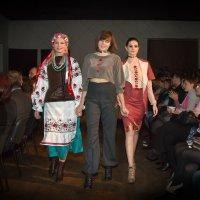 Элементы классического национального украинского платья в современной одежде :: Дарья Казбанова