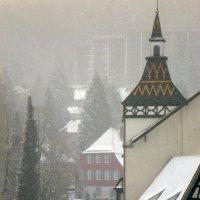 Снегопад :: Лариса Корженевская