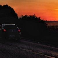 Дорога от заката на рассвет :: Ирина Данилова